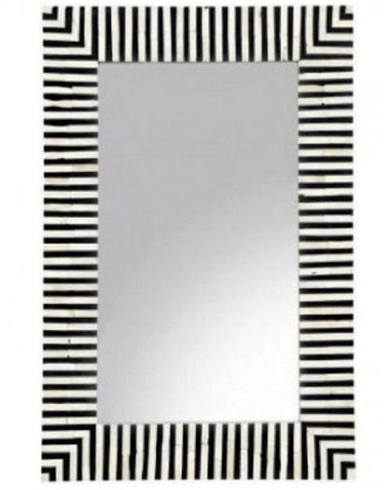 Stripes Bone Inlay Mirror