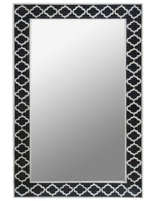 Marrakech Grids Bone Inlay Mirror