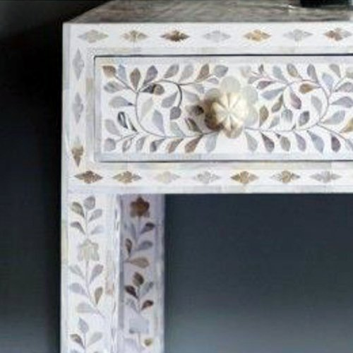 The Charm Mother of Pearl Console