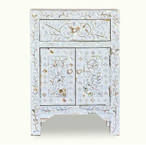 Dewdrop Mother of Pearl Inlay Bedside