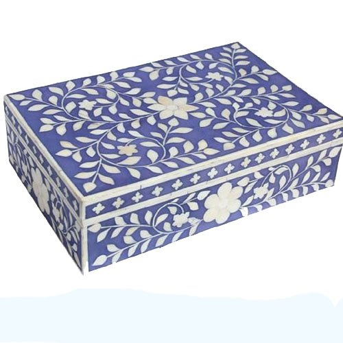 Foliage Bone Inlay Box