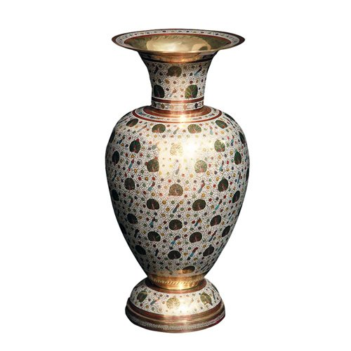 Beryl Fine Art Brass Flower Vase