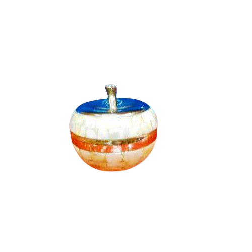 Pear Trinket Mother of Pearl Bowls (Fruit Shaped MOP Bowls)