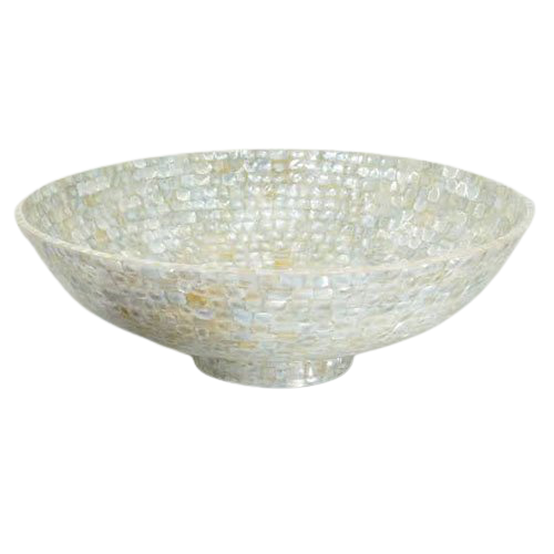 Winsome Mother of Pearl Fruit Bowls