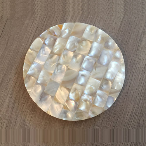 Sauve Dove Mother of Pearl Coasters