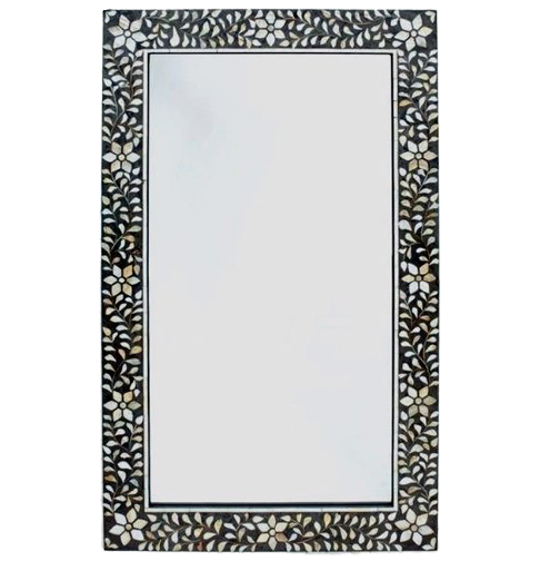 Foliage Mother of Pearl Inlay Mirror