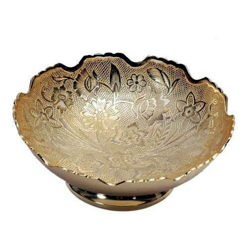 Antique Embossed Pure Brass Bowls