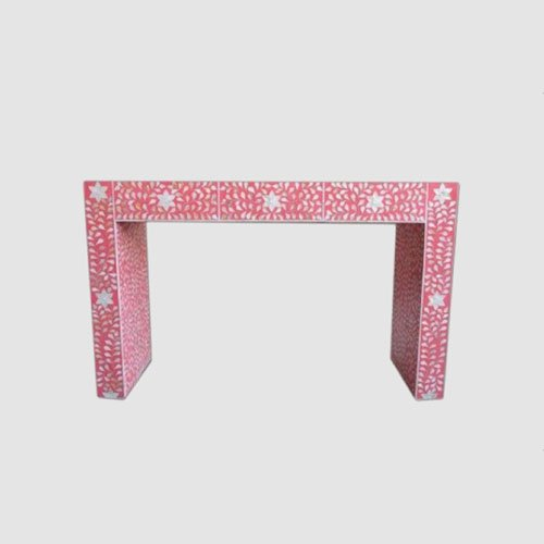 Passionate Pink Mother of Pearl Console/Dresser