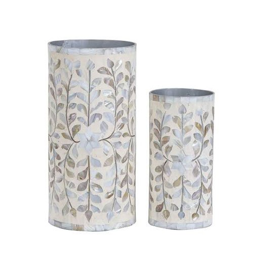 Dew Mother of Pearl Inlay Flower Pot
