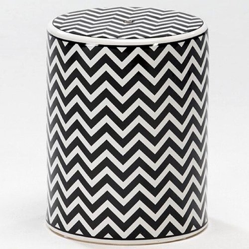 Monochromatic Bone Inlay Nightstand