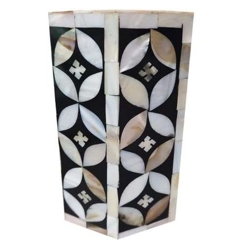 Majestic Bone Inlay Candle Holder