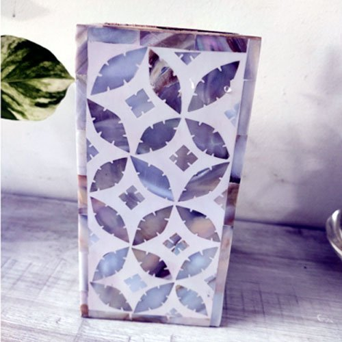 Dewdrop Art Mother of Pearl Candle Holder