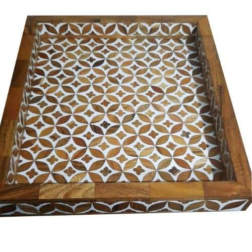wood inlay tray manufacturers